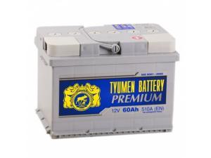 Аккумулятор Тюмень 6СТ-60.0LA Premium (низкий)